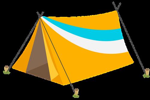 Stellplatz für kleine Zelte